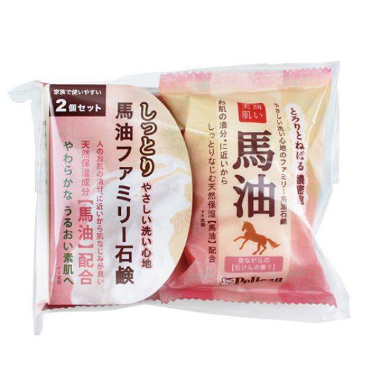 日本製造 Pelican馬油香皂(2入/組)★七彩美容百貨★