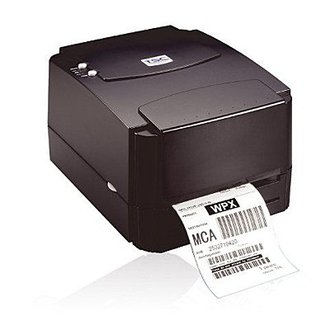 TSC TTP-244 PLUS 桌上型 熱感/熱轉式 條碼列印機