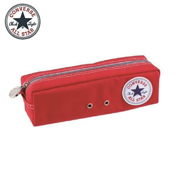 紅色款【日本正版】CONVERSE筆袋鉛筆盒ALLSTAR-182964
