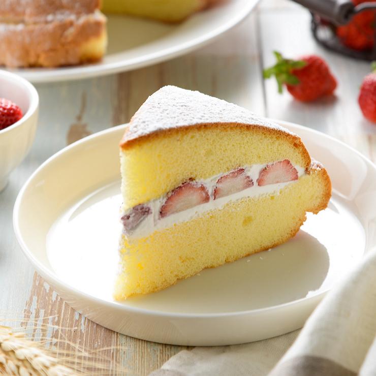 草莓波士頓蛋糕( 8吋)
