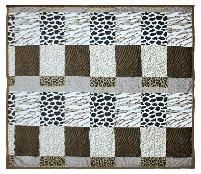 Royal Duck 翡翠絨加大毯 非洲風情 HU8002 1