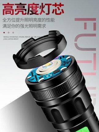 小型手電筒 小野人手電筒強光可充電超亮小疝氣燈戶外便攜家用迷你led遠射燈『MY3782』