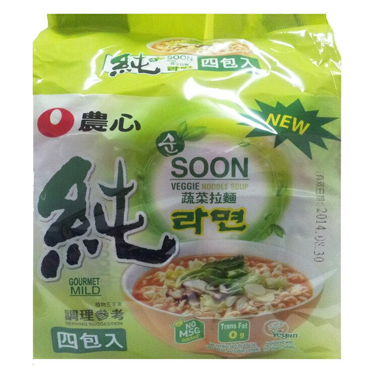農心 蔬菜拉麵-448g