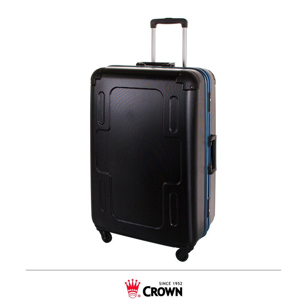 【加賀皮件】CROWN皇冠 十字款 29吋 霧面防刮彩框 行李箱 CF2501