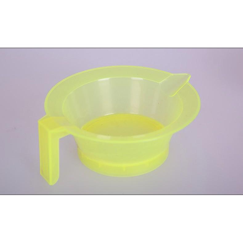 染髮護髮倒膜焗油專用調色碗 多功能塑料碗 焗油碗 有柄染碗 多色可選