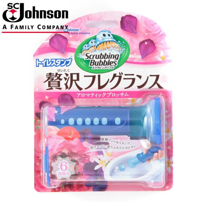 【日本SC Johnson】馬桶清香凝膠38g (粉紅花香)