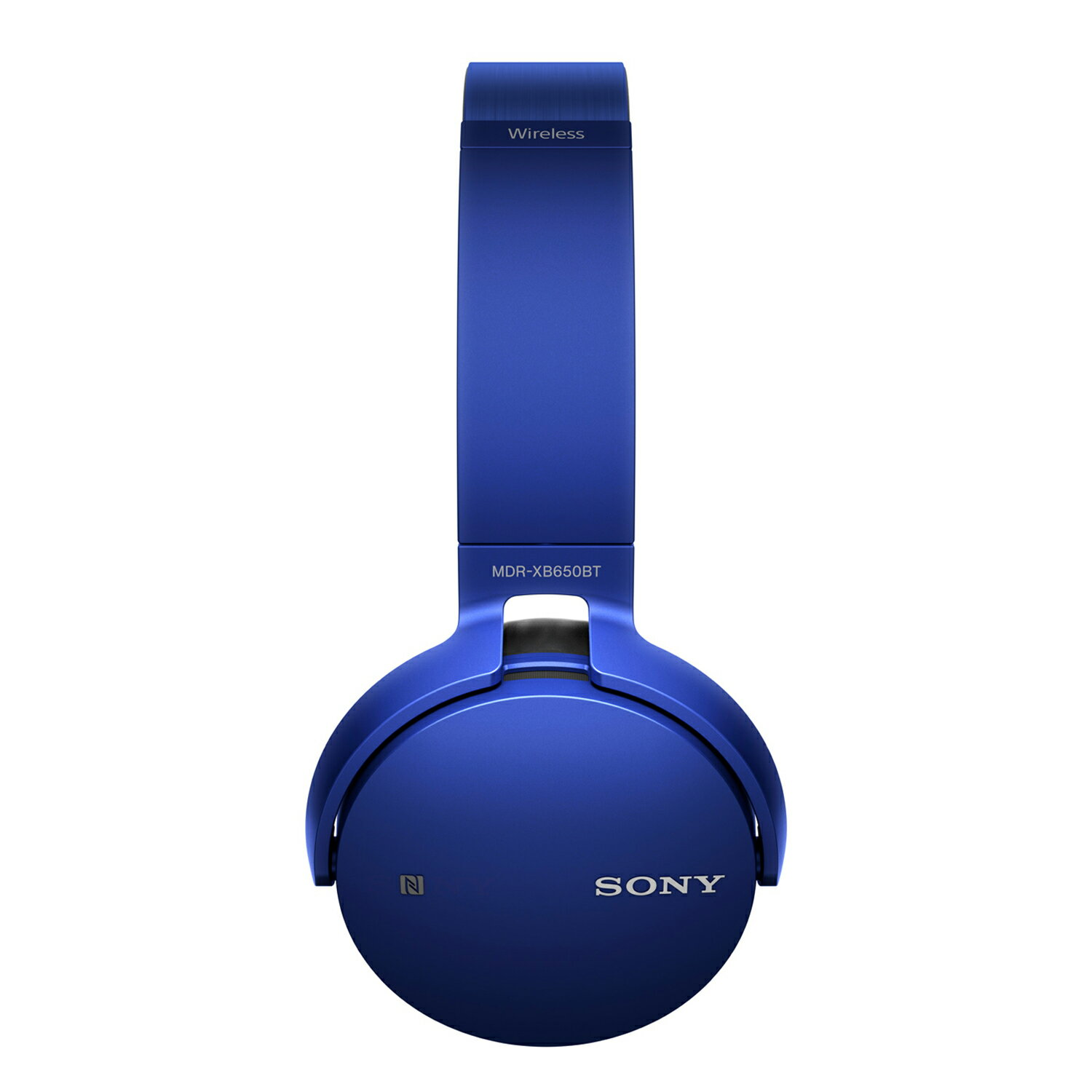 Sony Bluetooth Wireless NFC Over-Ear Headphones Extra Bass MDR-XB650BT - Blue 2