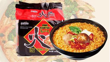 有樂町進口食品 韓國泡麵 八道Paldo 泡麵 火麵