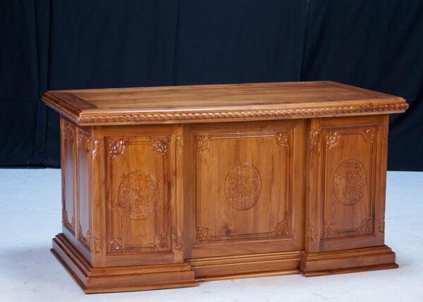 【石川家居】KL-89柚木5.1尺【鶴】辦公桌書桌會議桌寫字桌台中以北搭配車趟免運費