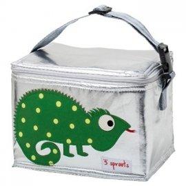 【淘氣寶寶】加拿大 3 Sprouts 午餐袋-小蜥蜴【 保溫效果,貼心扣環 23 cm寬*17cm高*18cm深】【 貨】