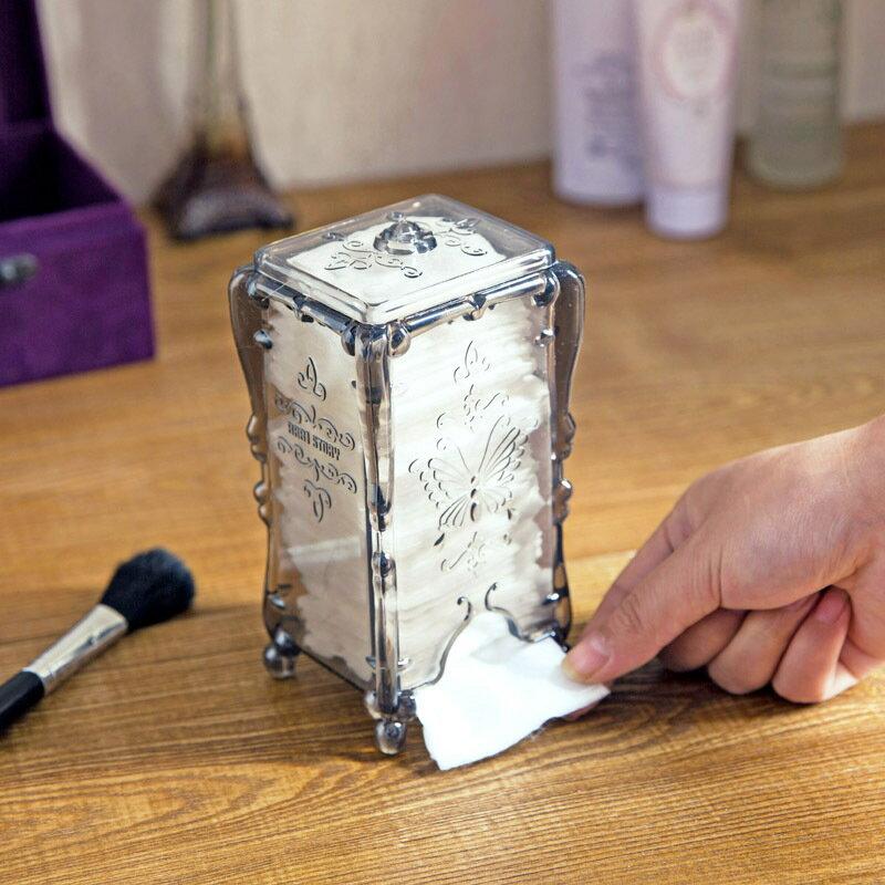 抽取式化妝棉收納盒 (不挑色) T3286
