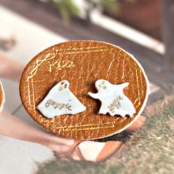 〔APM飾品〕日本Kaza 仙境遊園地搗蛋幽靈耳環