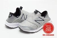 New Balance 美國慢跑鞋/跑步鞋推薦☆Mr.Sneaker☆ New Balance K150S 親子鞋 童鞋 免綁帶 易穿脫 KIDS 雜灰色 男女童