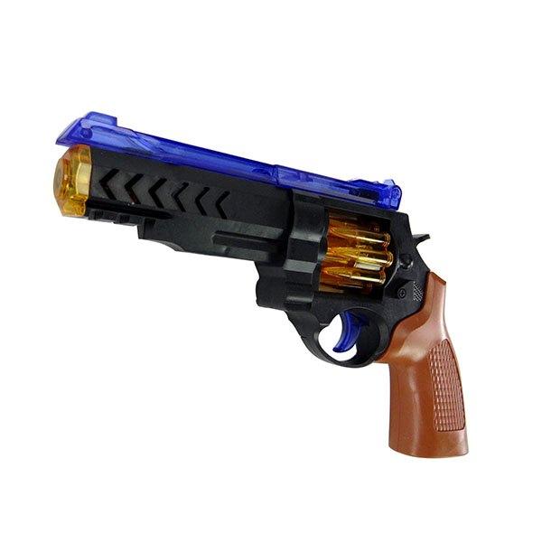【888便利購】2206聲光電動左輪手槍(有振動效果)