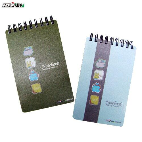 HFPWP 塗鴉夢幻 口袋型筆記本100張內頁附索引尺台灣製 N3351DP / 本