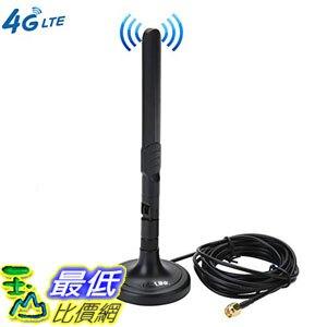 [8美國直購] 3G 4G LTE Antenna SMA Male Magnetic 3dBi GSM Antennas with Magnetic Sucker for Mobile Phone Signal Enhancer Repeater