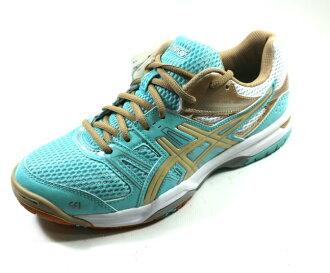 [陽光樂活=] ASICS 亞瑟士 排球鞋 羽球鞋 GEL-ROCKET 7 女款 B455N-6705