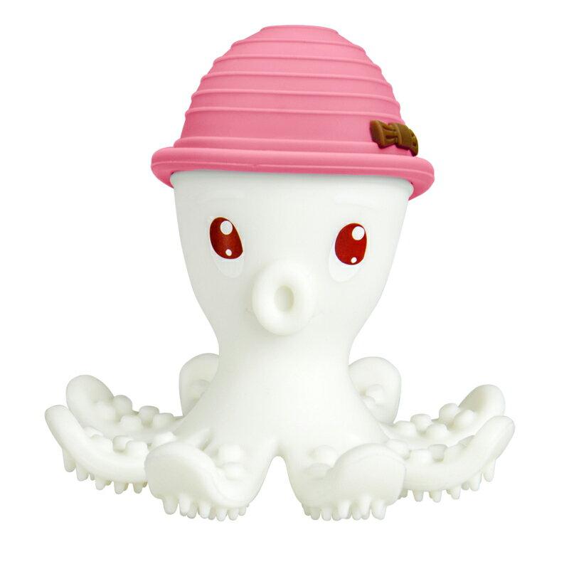 【mombella】樂咬咬章魚固齒器-盒蓋裝(5色) 6