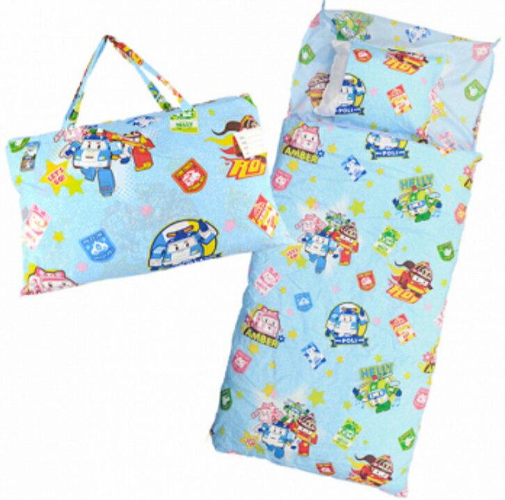 今日我最優惠~【【嫁妝寢具】卡通兒童幼稚園睡袋 /波力可拆洗睡袋/台灣製造