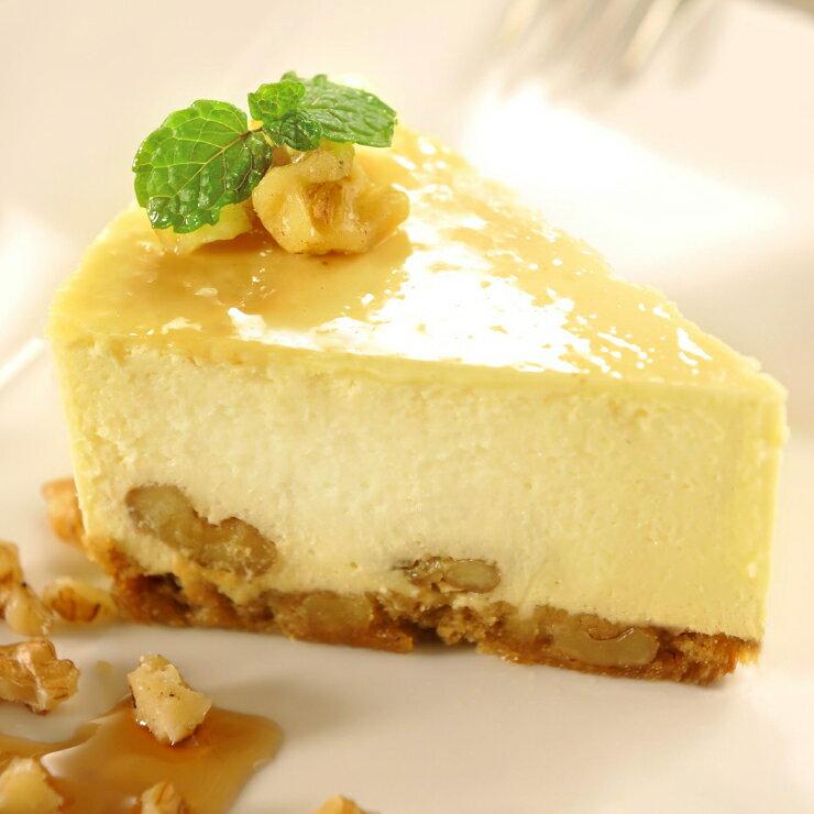 【土匪烘焙事務所】楓糖核桃重乳酪蛋糕 5.5吋(500g+-5%)