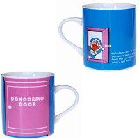 小叮噹週邊商品推薦【真愛日本】17080900011 日本製馬克杯-DN任意門藍 Doraemon 哆啦A夢 小叮噹  杯子 茶杯