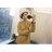 毛帽 粗線麻花捲邊針織毛帽【QI1502】 BOBI  10/13 1
