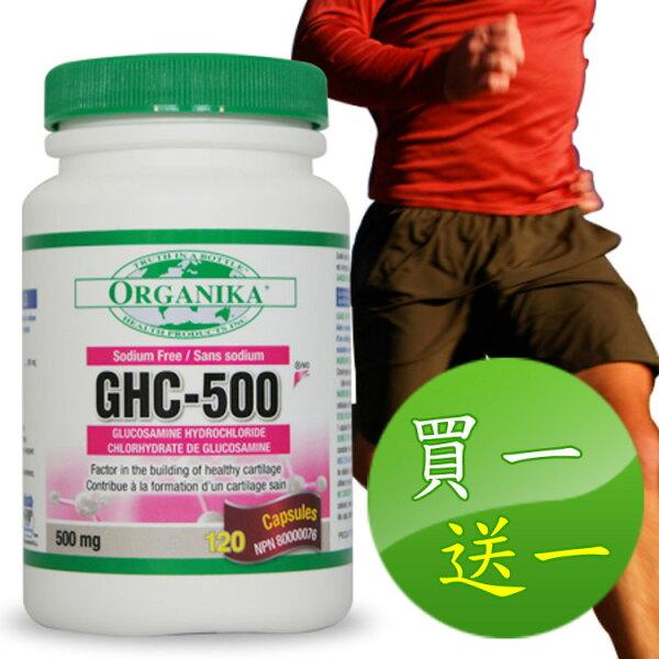 ~5月促銷,買一送一超低價回饋~無鈉葡萄糖胺-加拿大Organika(優格康)