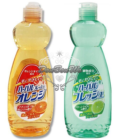 日本製MITSUEI去油汙檸檬橘子洗碗精清截劑600ML橘040610檸檬040603