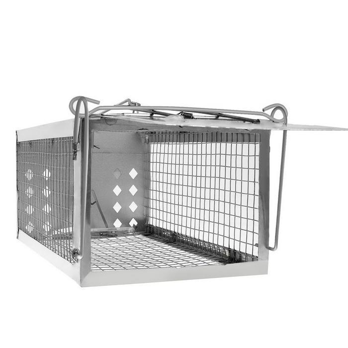 One Door Sensitive Pedal Mousetrap Cage 3