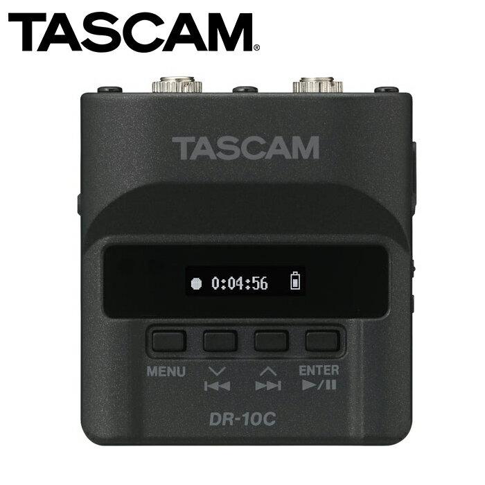 EGE 一番購】TASCAM【DR-10CS】線性PCM錄音機 for SENNHEISER【公司貨】