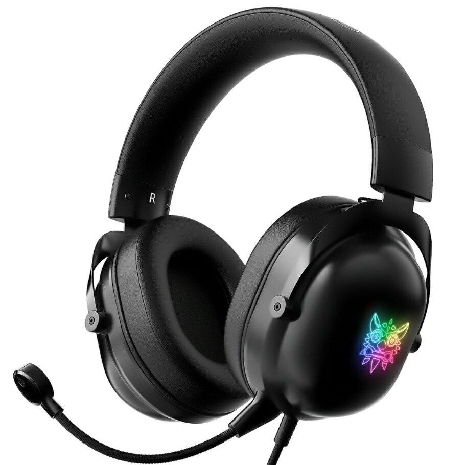 【我很便宜】ONIKUMA X11 電競耳機 遊戲電腦 耳麥 頭戴式耳機 頭戴式遊戲耳機 RGB 發光 重低音 聽音辨位