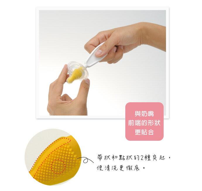 Richell利其爾 - 奶嘴清潔刷 (奶嘴刷) 2
