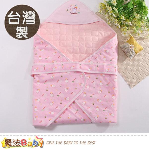 嬰兒包巾台灣製嬰兒厚鋪棉包巾魔法baby~h2008