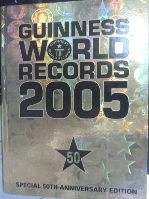 【書寶二手書T9/歷史_ZCF】Guinness World Records 2005