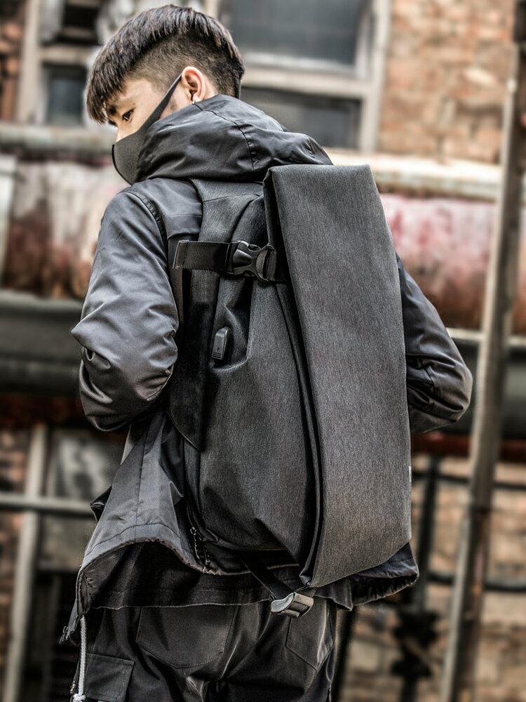 男款包包 雙肩包男時尚潮流個性正韓背包大學生書包男大容量電腦包旅行包男『xxs9284』