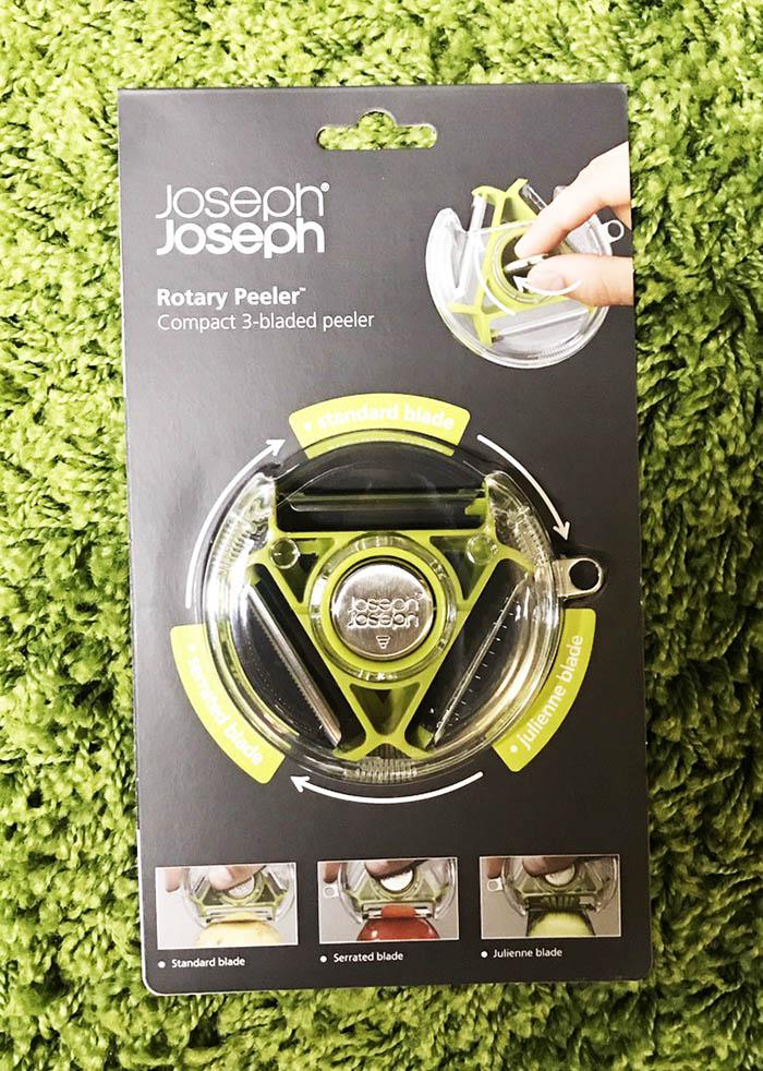 《★代購★英國Joseph Joseph創意餐廚》多功能 3合1旋轉削皮器(綠) 美國代購 平行輸入 溫媽媽