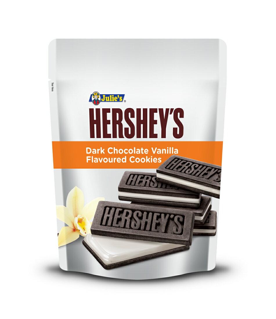茱蒂絲 賀喜黑巧克力香草味夾心餅-84g