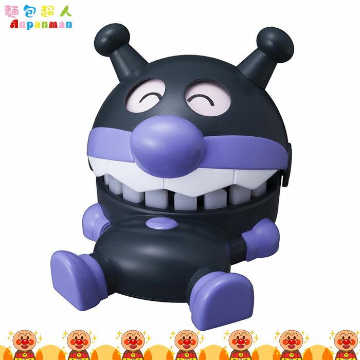大田倉 日本進口正版 ANPANMAN 麵包超人 咬咬樂玩具 細菌人造型 看牙醫  咬咬樂 兒童玩具 312609