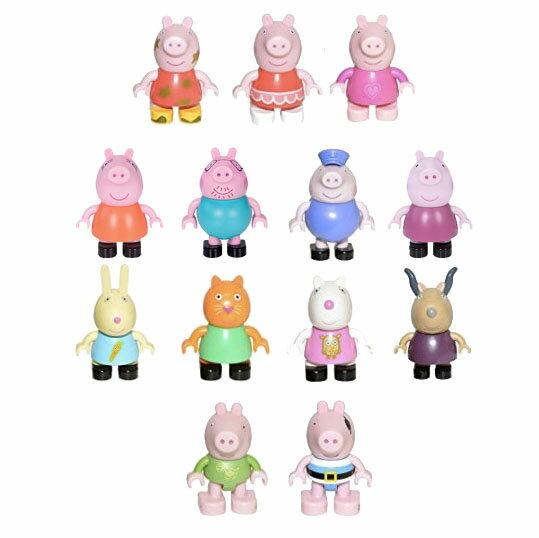 《★英國Peppa Pig粉紅豬小妹》積木組 公仔 美國代購 平行輸入 溫媽媽