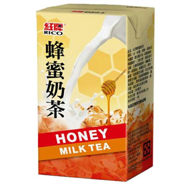 紅牌 蜂蜜奶茶(鋁箔包) 300ml (6入)/組【康鄰超市】