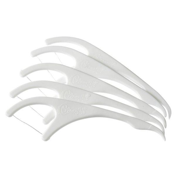 【現貨】( 一包50入 ) cleanpik 超細牙線棒 不斷線 不易起毛 牙線簽 牙籤 牙線 327C12