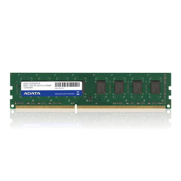 【新風尚潮流】威剛桌上型記憶體 4G DDR3-1333 雙面 終身保固 AD3U1333C4G9-R