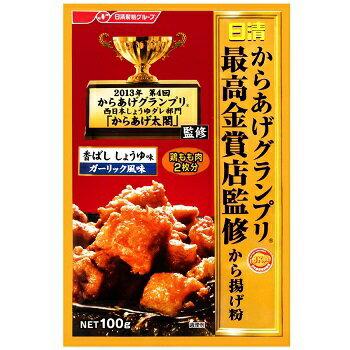 NISSIN 日清 最高金賞 炸雞粉-100g(醬油香蒜風味) [大買家] 8