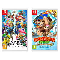 Rakuten.com deals on Nintendo Switch Super Smash Bros Ultimate Edition Bundle