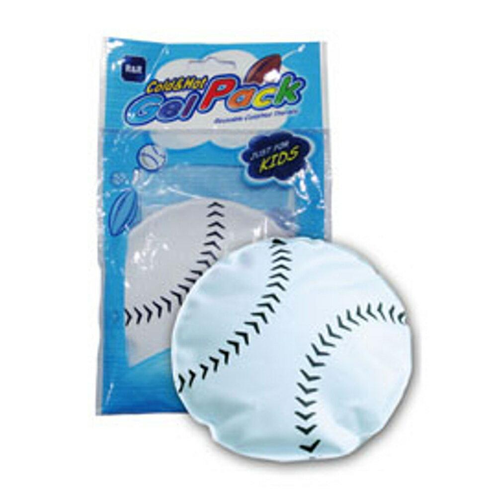 R&R 棒球冷熱敷墊 1入 冷敷 散熱 熱敷 保暖 敷墊