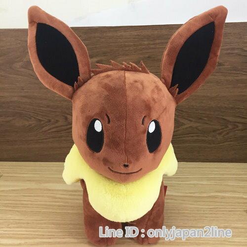 【真愛日本】16112600015坐娃-14吋伊布  神奇寶貝 Pokemon 娃娃 玩偶 正品 限量