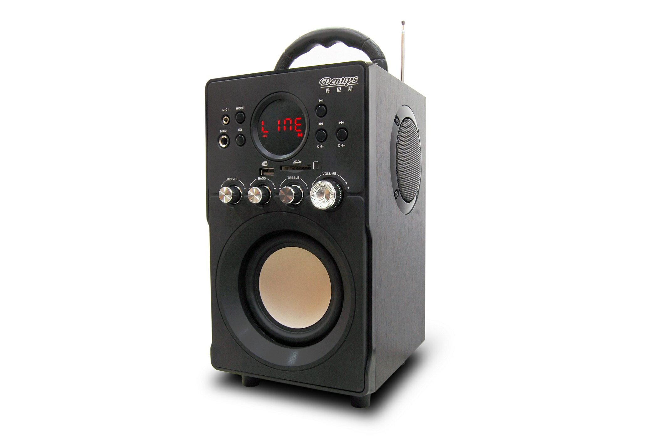 Dennys】迷你2.1多媒體重低音MP3音響(WS-330)