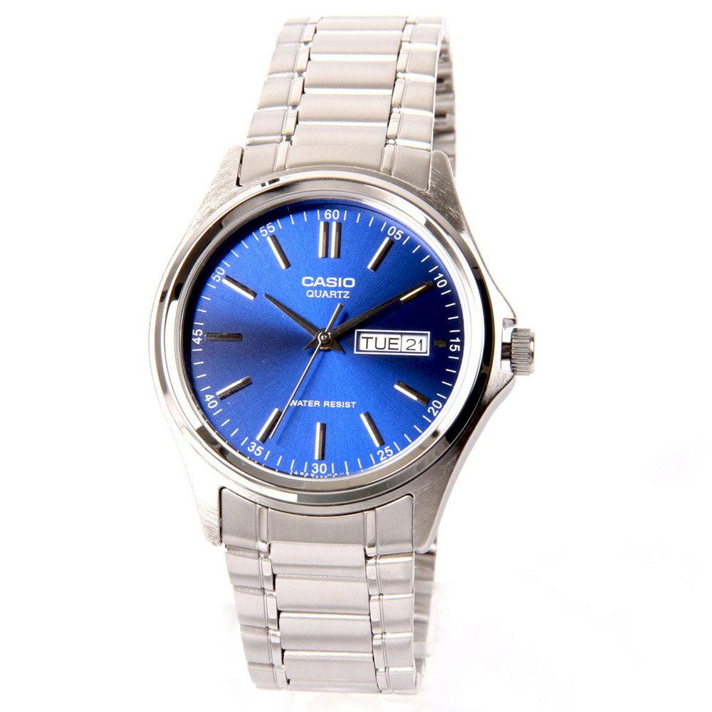 Casio Men's Quartz Watch Quartz Mineral Crystal MTP-1239D-2A 0
