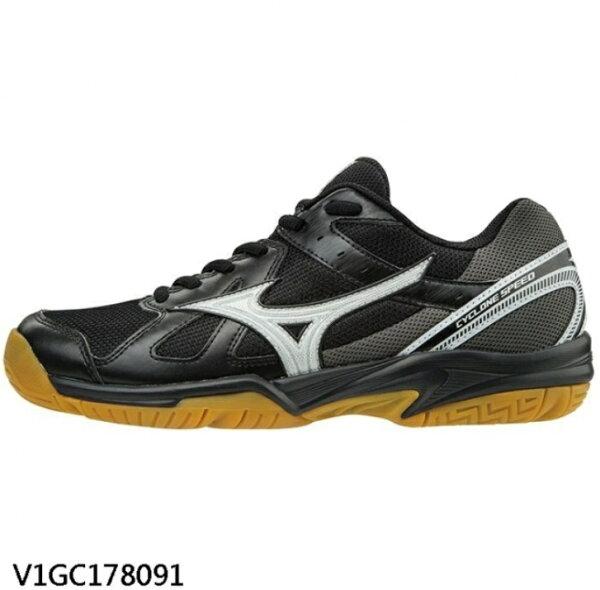 美津濃MIZUNO女排球鞋CycloneSpeed(黑)V1GC178091【胖媛的店】