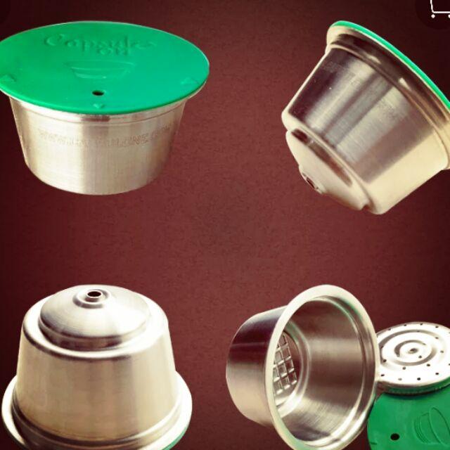 相容雀巢gusto 咖啡膠囊咖啡機 的填充膠囊 (單顆) 不鏽鋼膠囊 填充膠囊 膠囊咖啡機